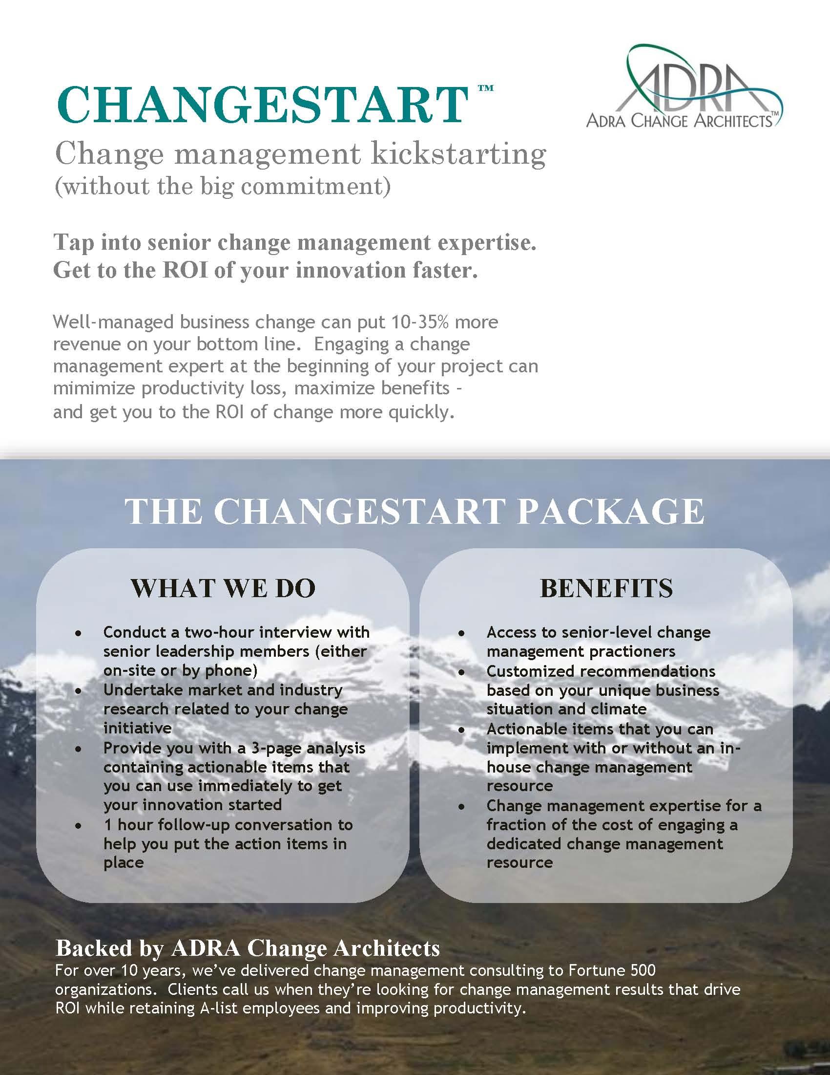 ChangeStart infosheet